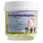 NatuVet Sensitiv 100% naturreines Grünlippmuschel-Pulver 250g (Perna Canaliculus) mit Dosierlöffel 1g